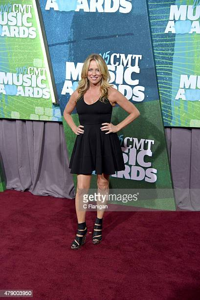 Deana Carter attends the 2015 CMT Music awards at the Bridgestone Arena on June 10 2015 in Nashville Tennessee