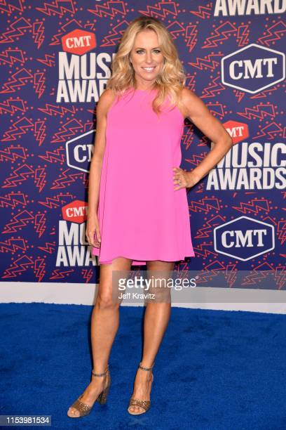 Deana Carter attends the 2019 CMT Music Awards at Bridgestone Arena on June 05 2019 in Nashville Tennessee