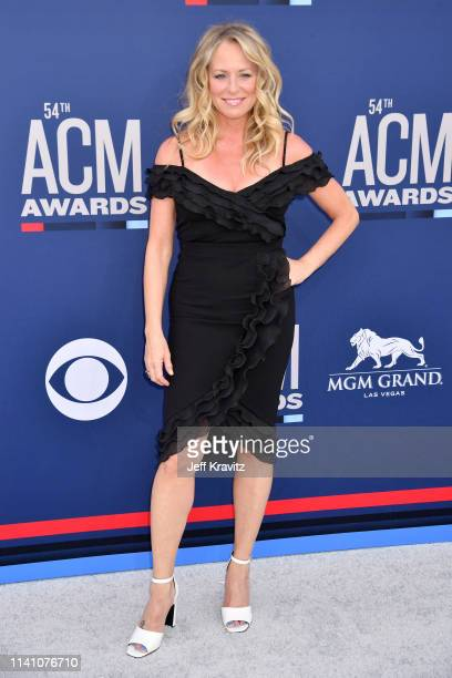 Deana Carter attends the 54th Academy Of Country Music Awards at MGM Grand Hotel Casino on April 07 2019 in Las Vegas Nevada