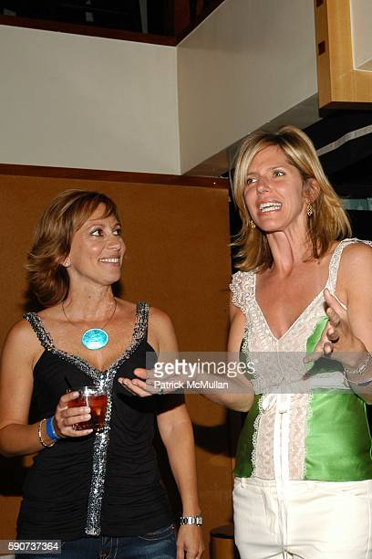 Deana Delshad and Jane Buckingham attend Modern Girls Guide Preview Party at Monroe's Bar on July 7 2005