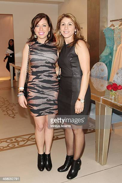 Deana Jebara and Ghada Jebara attend the Ethical Shopping Event hosted by Reem Acra at Reem Acra on December 19 2013 in New York City