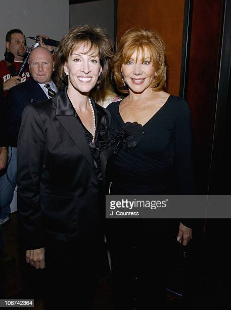 """Deana Martin and Joy Philbin during Deana Martin and the Chambers Hotel Celebrate the Release of Her Book """"Memories Are Made of This"""" at Chambers..."""