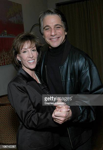 """Deana Martin and Tony Danza during Deana Martin Celebrates the Publication of her New Book """"Memoirs Are Made Of This"""" at Chambers Hotel in New York..."""