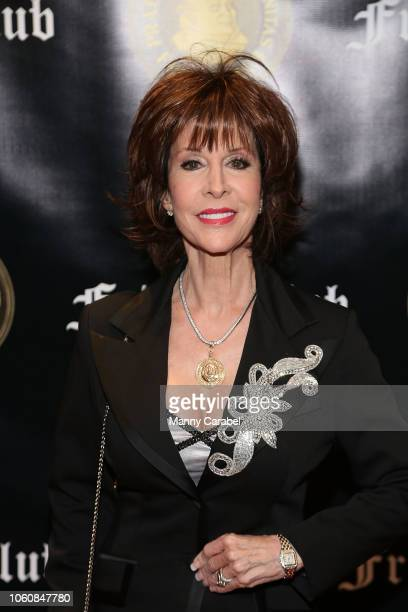 Deana Martin attends as the Friar's Club Honors Billy Crystal with their Entertainment Icon Award at The Ziegfeld Ballroom on November 12, 2018 in...