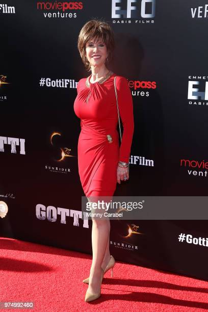 """Deana Martin attends the New York Premiere of """"Gotti"""" at SVA Theater on June 14, 2018 in New York City."""