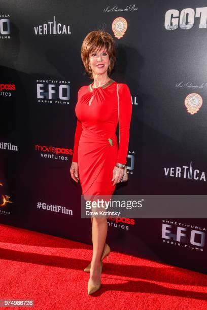 Deana Martin attends the New York premiere of Gotti starring John Travolta in theaters June 15 2018 on June 14 2018