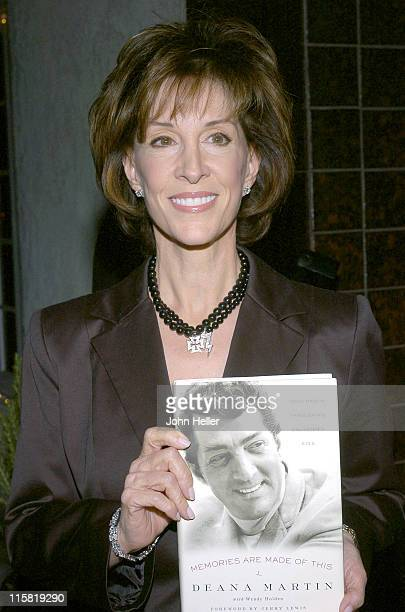 Deana Martin during Book Party to Celebrate Deana Martin's New Book Memories Are Made Of This at Da Vinci Restaurant in Beverly Hills California...