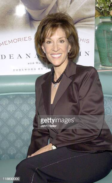 """Deana Martin during Book Party to Celebrate Deana Martin's New Book """"Memories Are Made Of This"""" at Da Vinci Restaurant in Beverly Hills, California,..."""