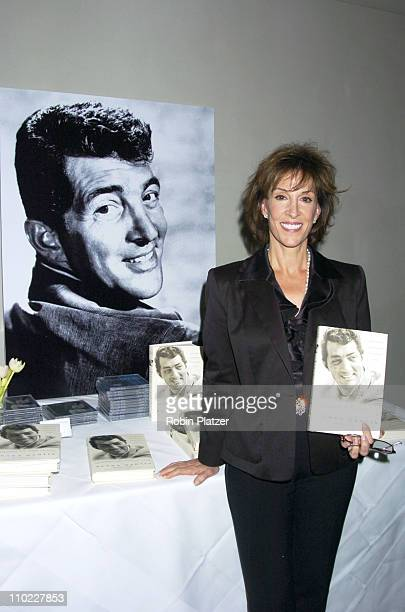 """Deana Martin during Deana Martin Book Party for """"Memories Are Made of This: Dean Martin Through His Daughter's Eyes"""" at The Chambers Hotel in New..."""
