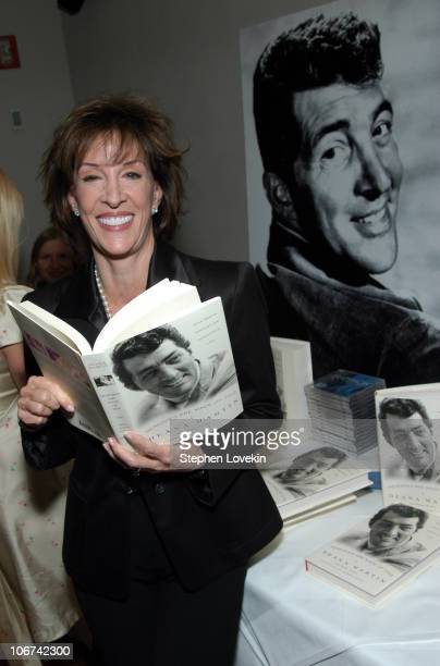 Deana Martin during Deana Martin Celebrates the Publication of her New Book Memoirs Are Made Of This at Chambers Hotel in New York City New York...