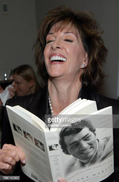 """Deana Martin during Deana Martin Celebrates the Publication of her New Book """"Memoirs Are Made Of This"""" at Chambers Hotel in New York City, New York,..."""
