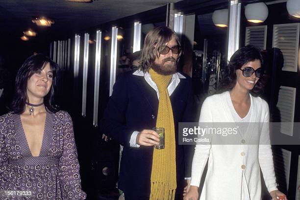 Deana Martin Musician Terry Melcher and Dean Martin's daughter attend the Wedding of Dean Paul Martin and Olivia Hussey on April 17 1971 in Las Vegas...