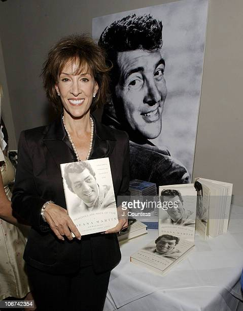 """Deana Martin with her new book, """"Memories are Made of This"""""""