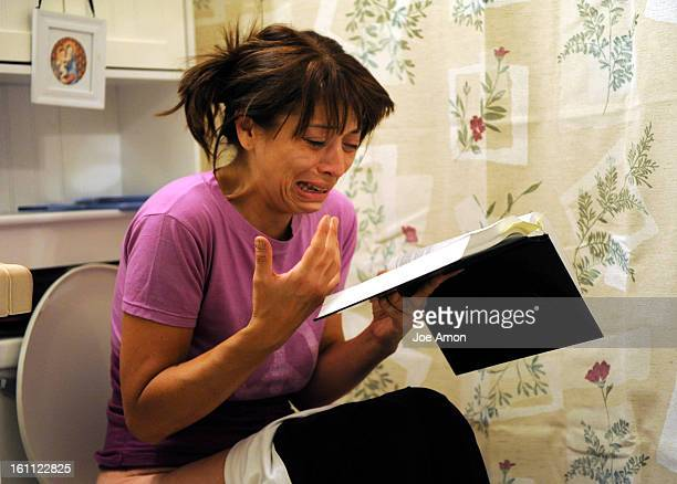 Deana Martinez cries to Jesus for help as she tries to make her insides work Her Bible pills marijuana and strength of will are sometimes not enough...
