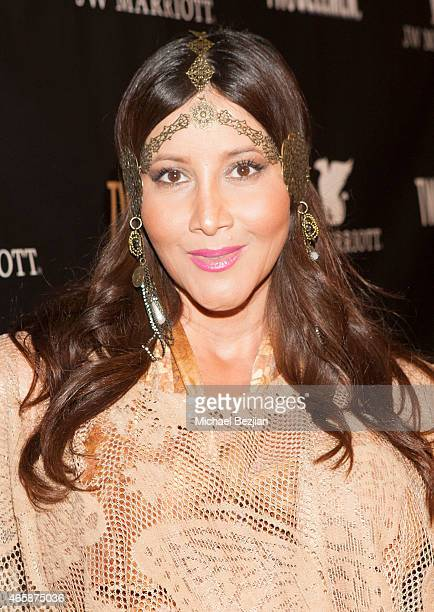 Deana Molle attends JW Marriott Hosts The Premiere Of Two Bellmen at JW Marriot at LA Live on March 10 2015 in Los Angeles California
