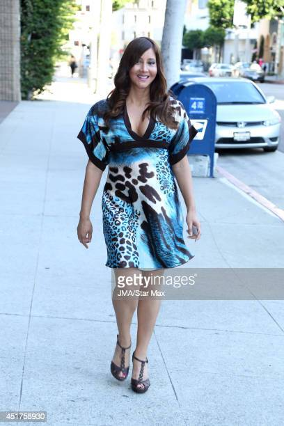 Deana Molle is seen on July 5 2014 in Los Angeles California