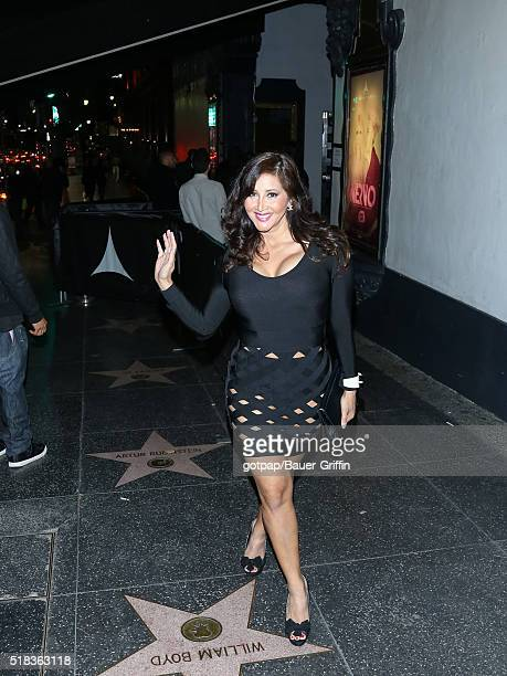 Deana Molle is seen on March 30 2016 in Los Angeles California
