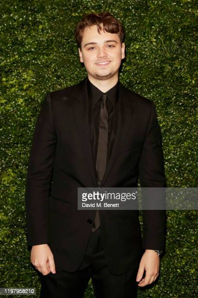 DeanCharles Chapman arrives at the Charles Finch CHANEL PreBAFTA Party at 5 Hertford Street on February 1 2020 in London England