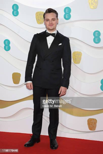 DeanCharles Chapman arrives at the EE British Academy Film Awards 2020 at Royal Albert Hall on February 2 2020 in London England
