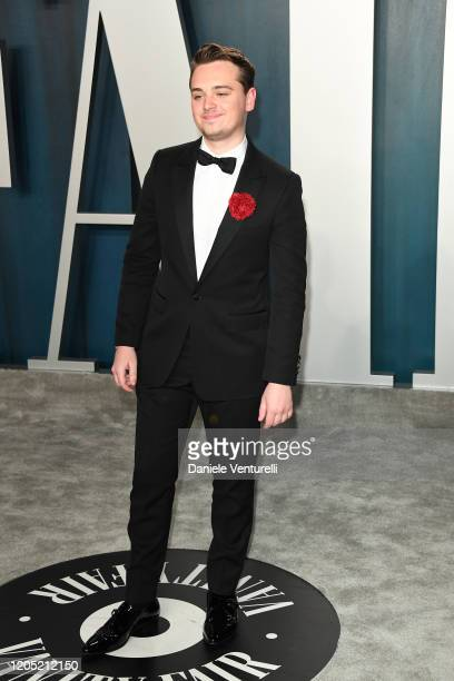 DeanCharles Chapman attend the 2020 Vanity Fair Oscar party hosted by Radhika Jones at Wallis Annenberg Center for the Performing Arts on February 09...