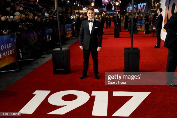 DeanCharles Chapman attends the 1917 World Premiere and Royal Performance at Odeon Luxe Leicester Square on December 04 2019 in London England