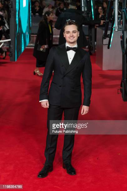 Dean-Charles Chapman attends the EE British Academy Film Awards ceremony at the Royal Albert Hall on 02 February, 2020 in London, England.-...
