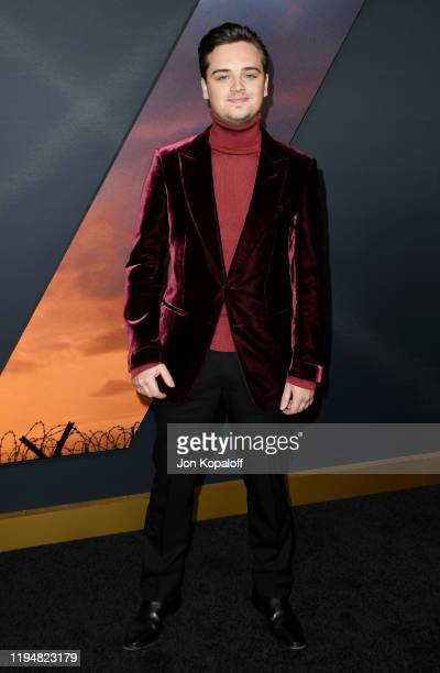 DeanCharles Chapman attends the premiere of Universal Pictures' 1917 at TCL Chinese Theatre on December 18 2019 in Hollywood California