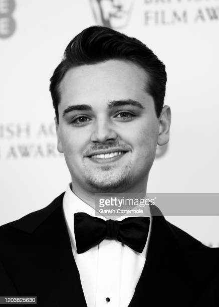 DeanCharles Chapman poses in the Winners Room during the EE British Academy Film Awards 2020 at Royal Albert Hall on February 02 2020 in London...