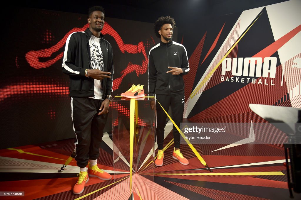 PUMA Re-Enters Basketball Category With First Look At Basketball Shoe : News Photo