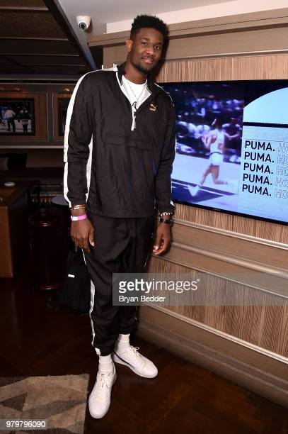 DeAndre Ayton attends the PUMA Basketball launch party at 40 40 Club on June  20 5c4775ba9