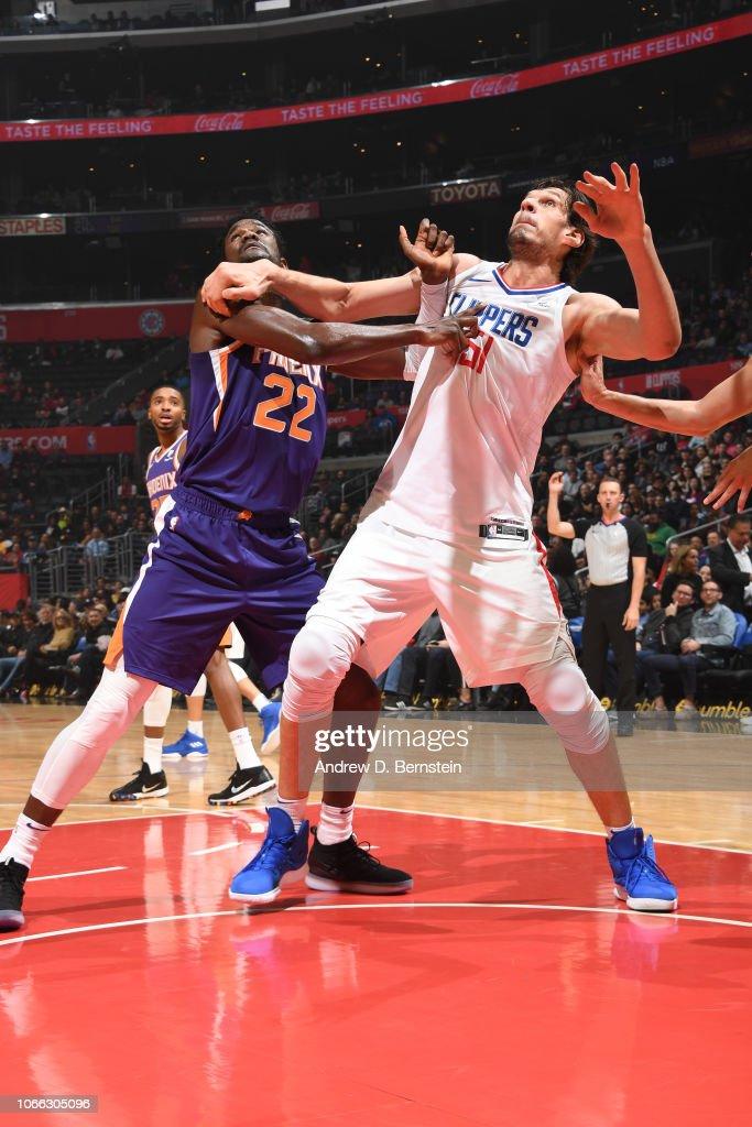 Phoenix Suns v Los Angeles Clippers : News Photo