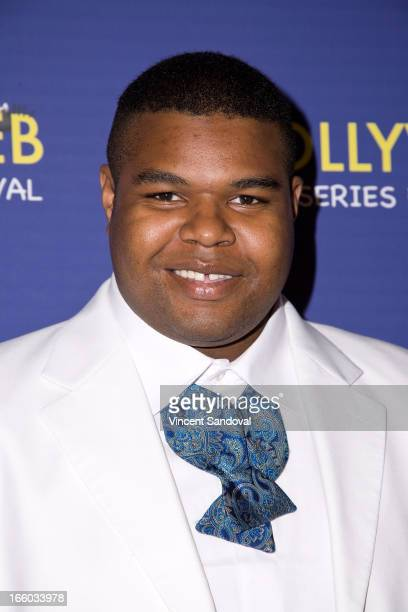 DeAndre Baker attends the 2nd annual HollyWeb Festival at Avalon on April 7 2013 in Hollywood California