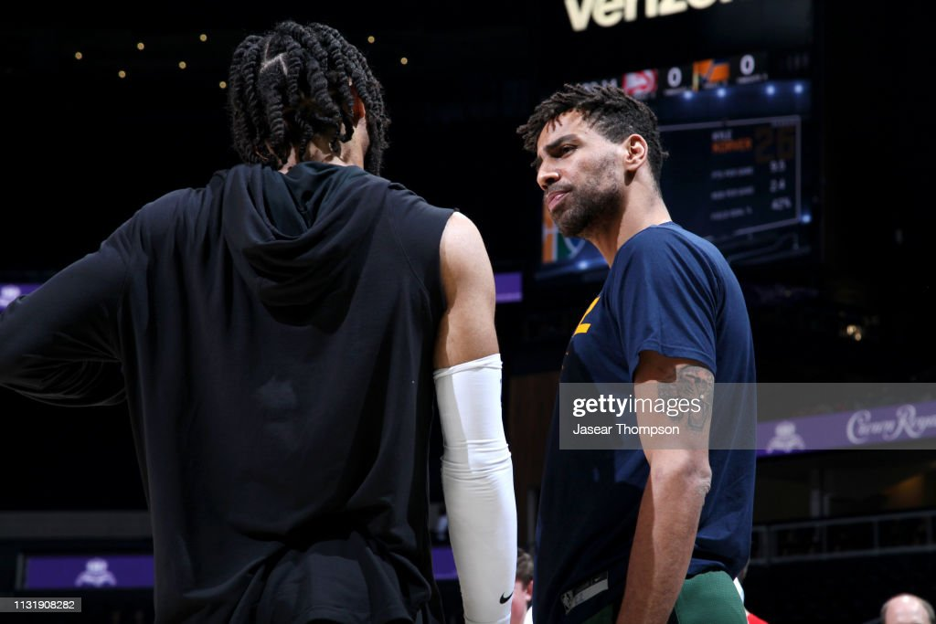 GA: Utah Jazz v Atlanta Hawks