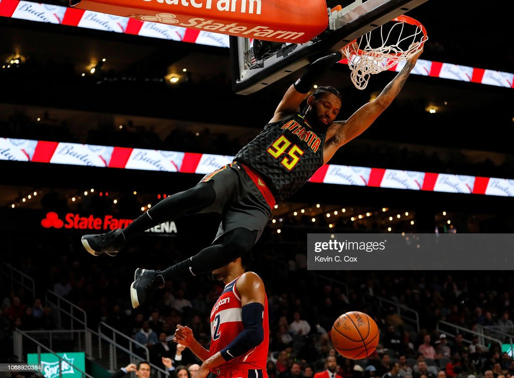 Washington Wizards v Atlanta Hawks : News Photo