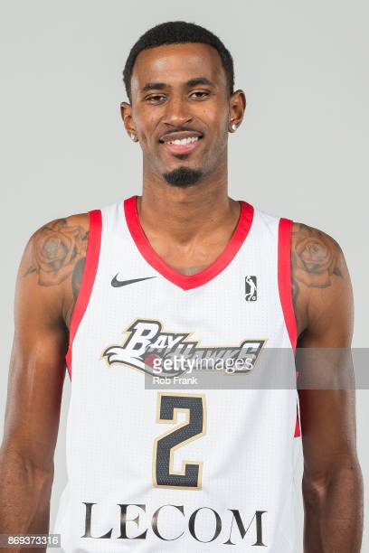 DeAndre Daniels of the Erie BayHawks poses for a head shot during the NBA GLeague media day at the LECOM Health and Wellness Center on November 1...