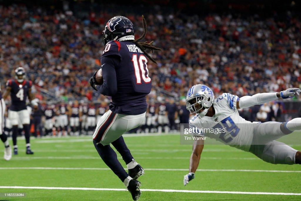 Detroit Lions v Houston Texans : News Photo