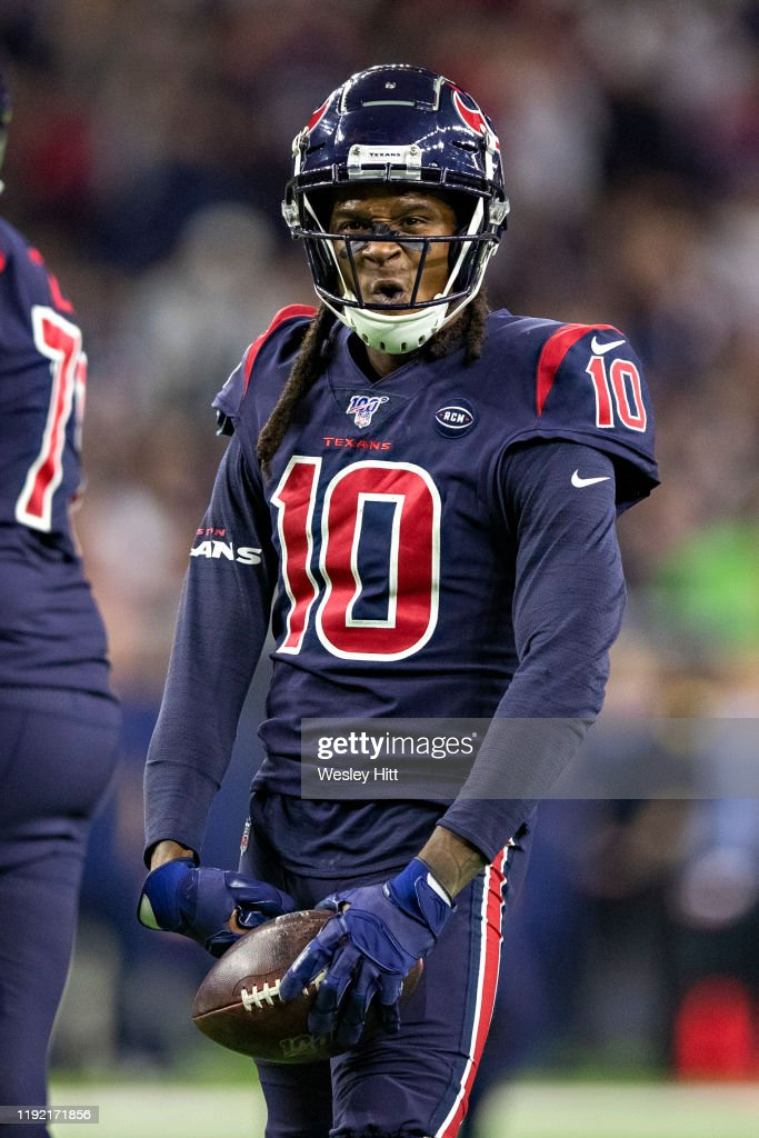 Deandre Hopkins Of The Houston Texans Flexes His Muscle After News Photo Getty Images