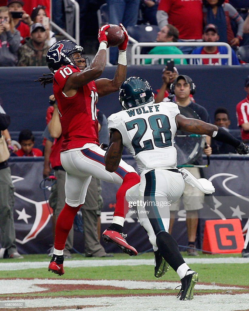 Philadelphia Eagles v Houston Texans