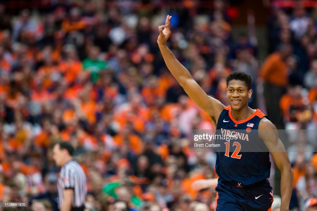 Virginia v Syracuse : News Photo