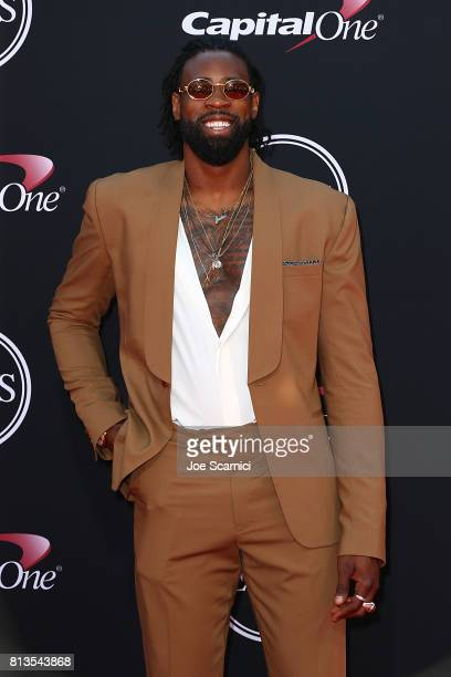 DeAndre Jordan arrives at the 2017 ESPYS at Microsoft Theater on July 12 2017 in Los Angeles California