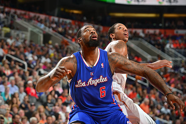 DeAndre Jordan of the Los Angeles Clippers