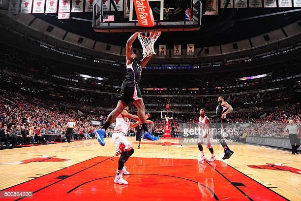 68e9c40ef0b9 DeAndre Jordan of the Los Angeles Clippers dunks against the Chicago Bulls  on December 10 2015