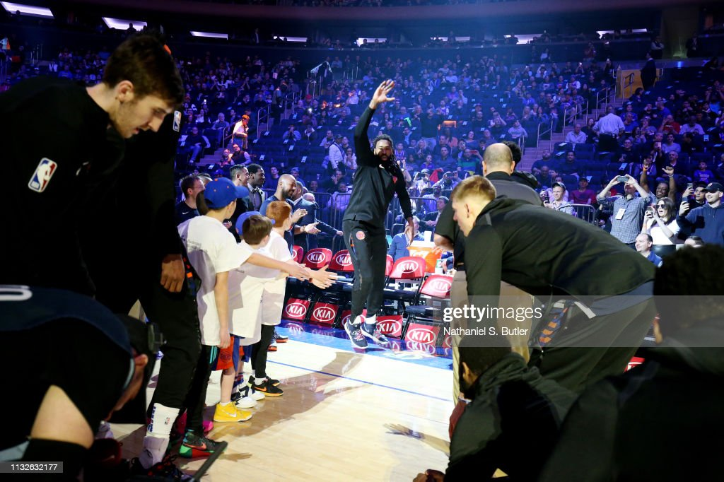 NY: Los Angeles Clippers v New York Knicks