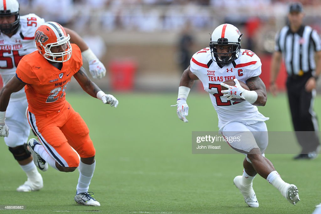 UTEP  v Texas Tech : News Photo