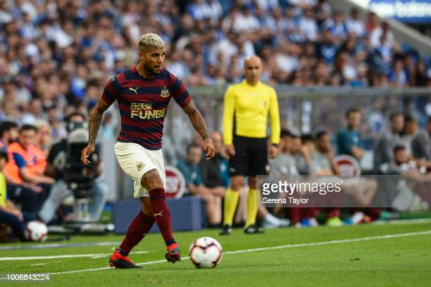 DeAndre Yedlin of Newcastle United controls the ball during the Pre Season Friendly match between FC Porto and Newcastle United at Estadio do Dragao...