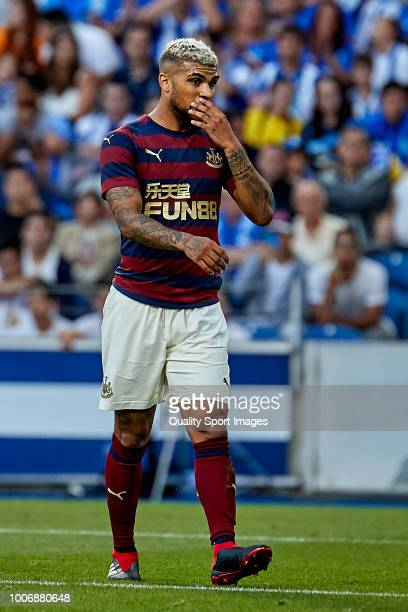 DeAndre Yedlin of Newcastle United looks on during the Preseason friendly match between FC Porto and Newcastle at Estadio do Dragao on July 28 2018...
