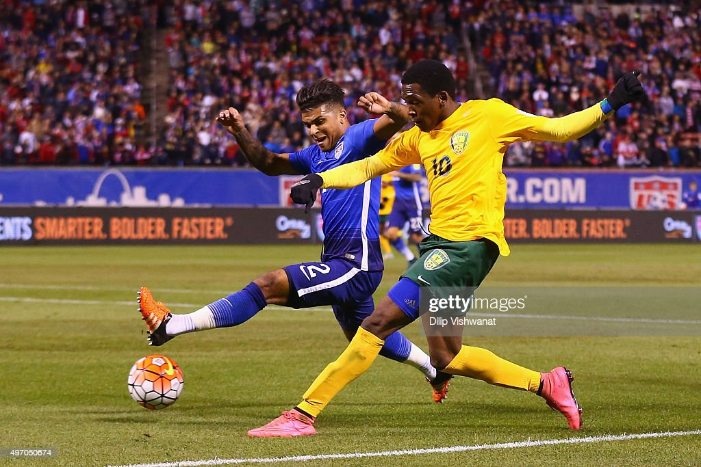 St. Vincent and the Grenadines v USA : News Photo