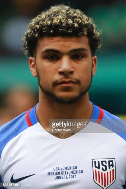 Deandre Yedlin of United States during the match between Mexico and The United States as part of the FIFA 2018 World Cup Qualifiers at Azteca Stadium...