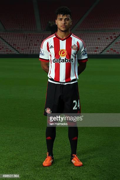 DeAndre Yedlin pictured during the Sunderland Team photo shoot at the Stadium of Light on November 05 2015 in Sunderland England