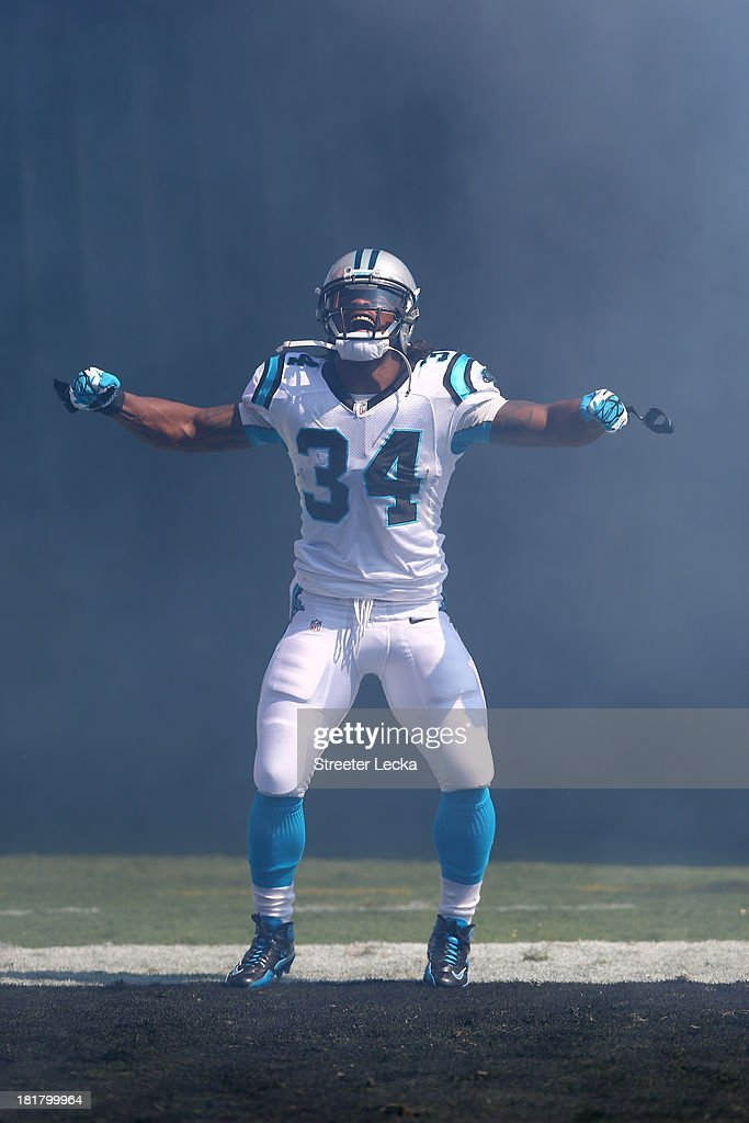 Deangelo Williams Of The Carolina Panthers During Their Game At Bank News Photo Getty Images